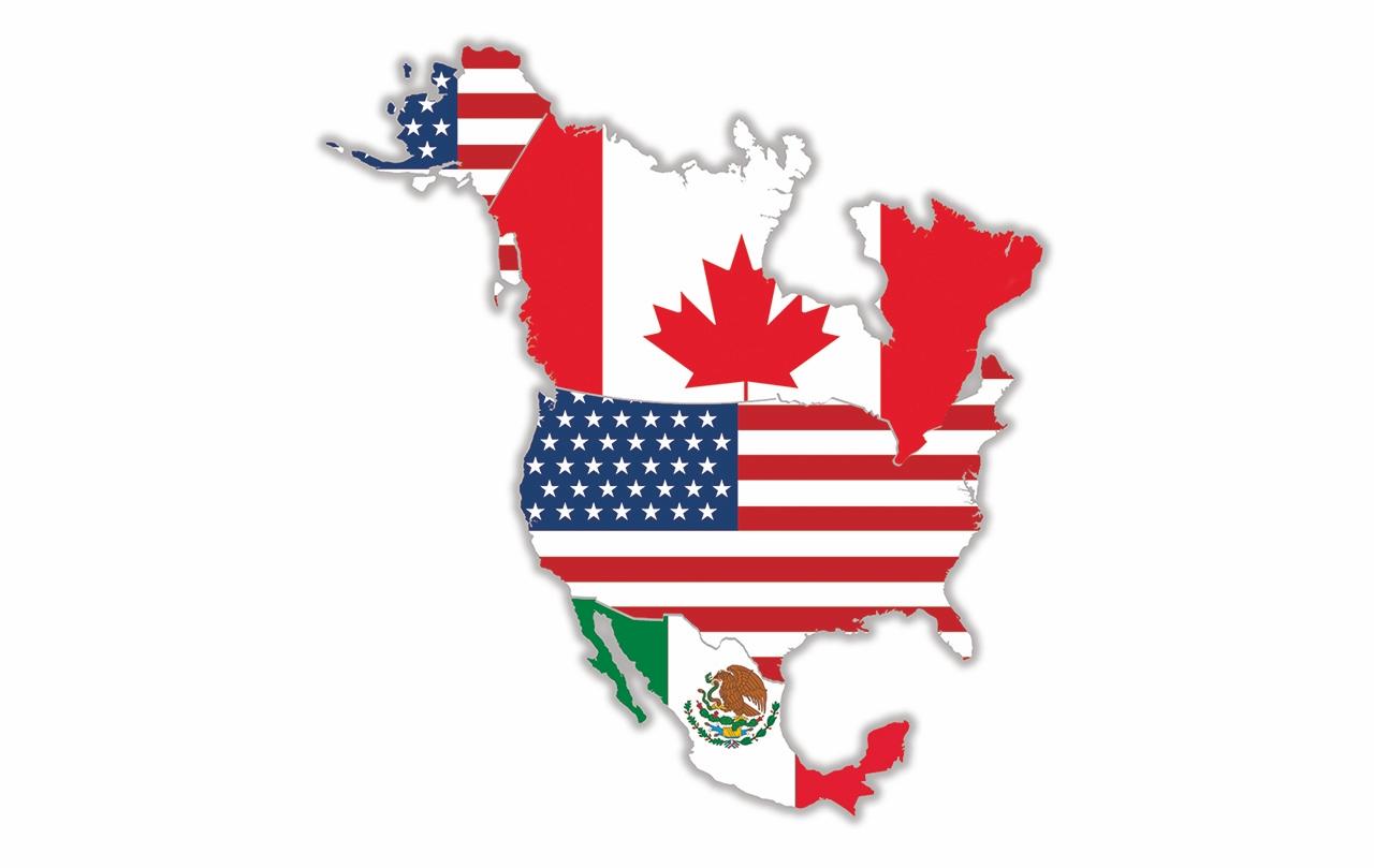 NoordAmerikaanse Vrijhandelsovereenkomst North American Free Trade Agreement NAFTA Tratado de Libre Comercio de América del Norte TLCAN Accord de libreéchange