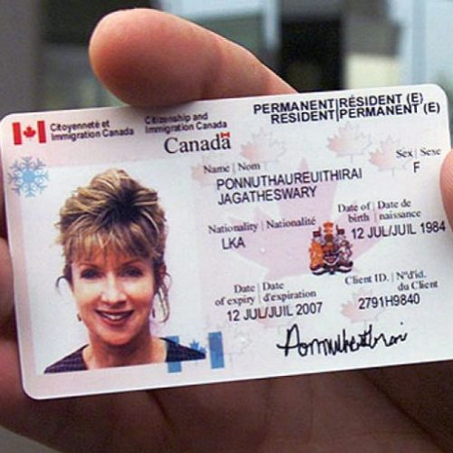 Canadian Permanent Resident Card And Renewal Faq 2018 Us
