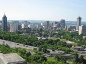 Hamilton, Ontario Skyline