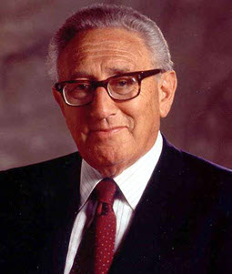 Henry Kissinger Famous U.S. Immigrant