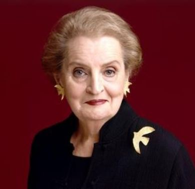 famous refugees Madeline Albright