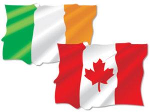 Irish and Canadian