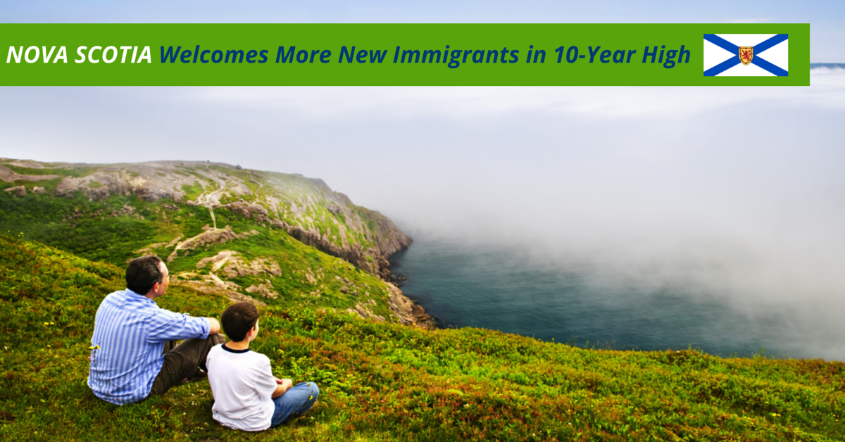 Nova Scotia Welcomes More New Immigrants
