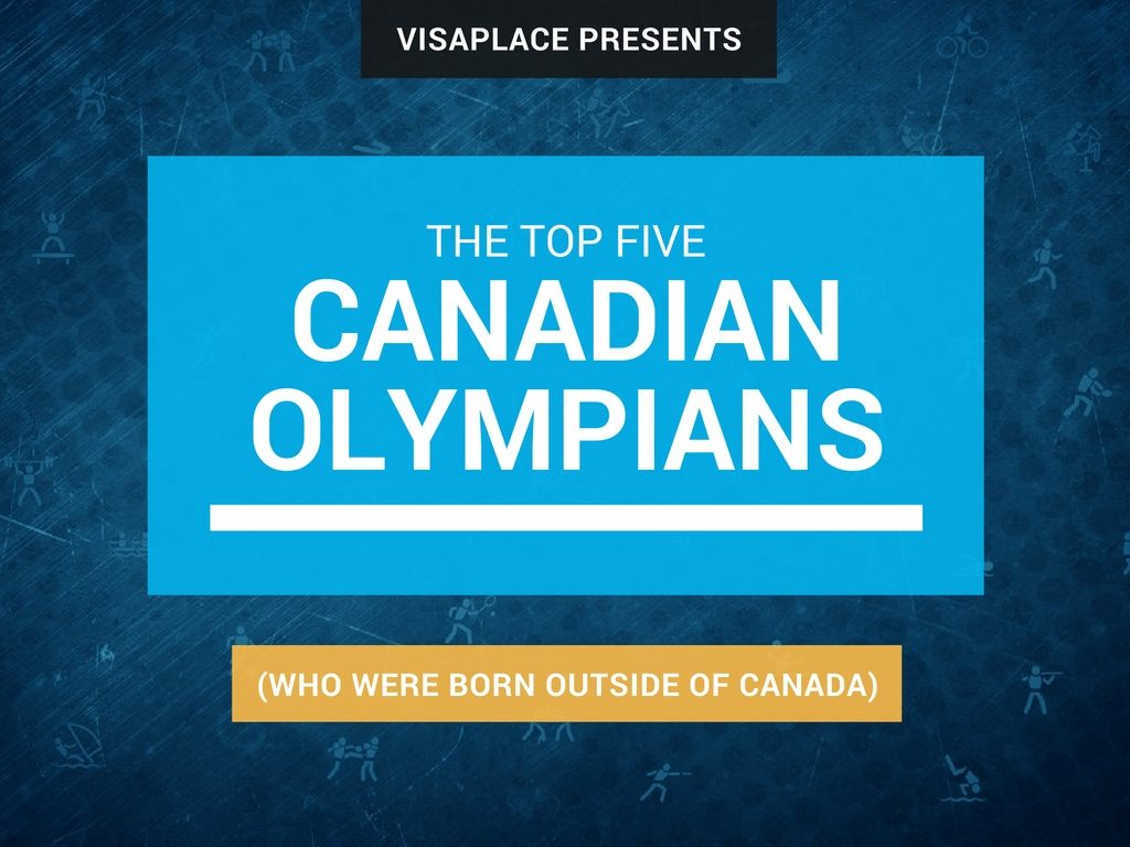 top 5 canadian olympians born outside canada