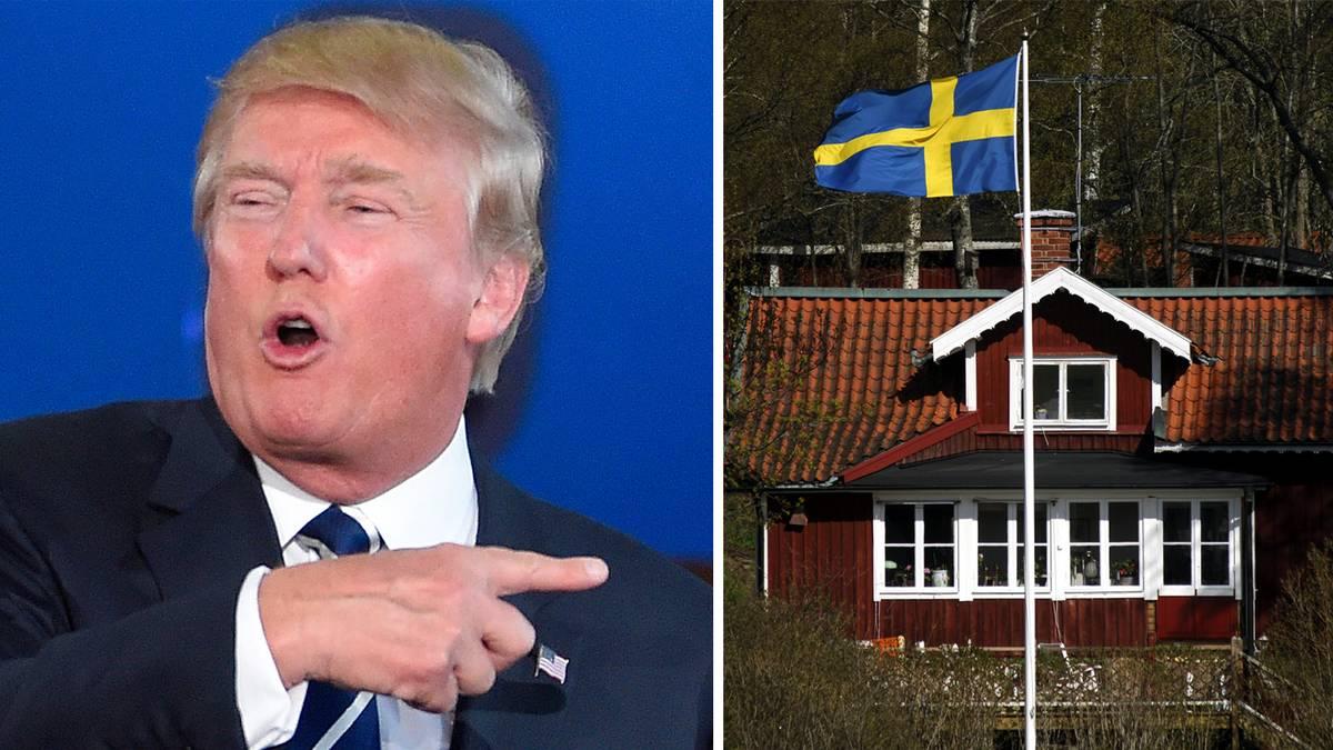 Trump Sweden