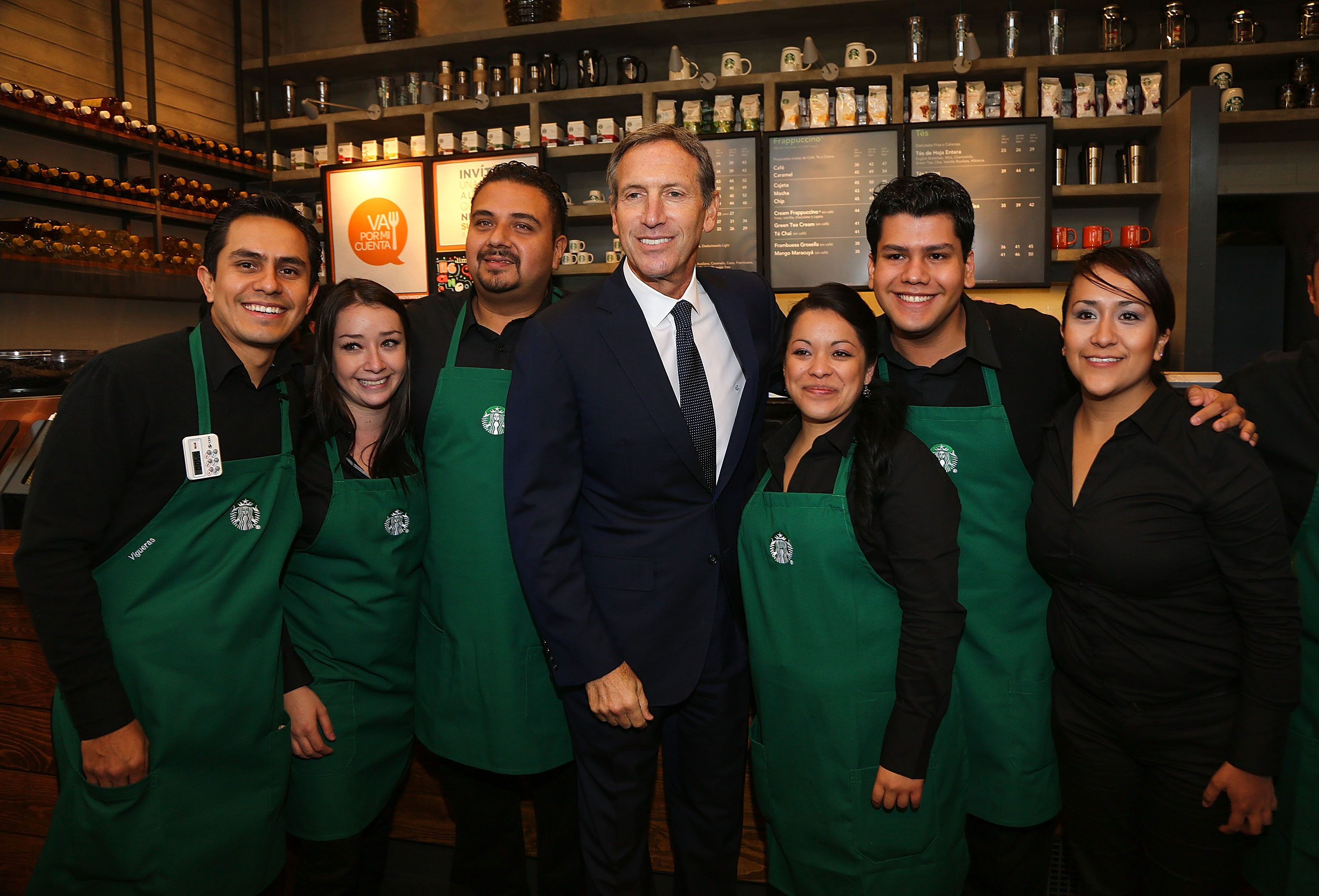 Starbucks Hires Refugees