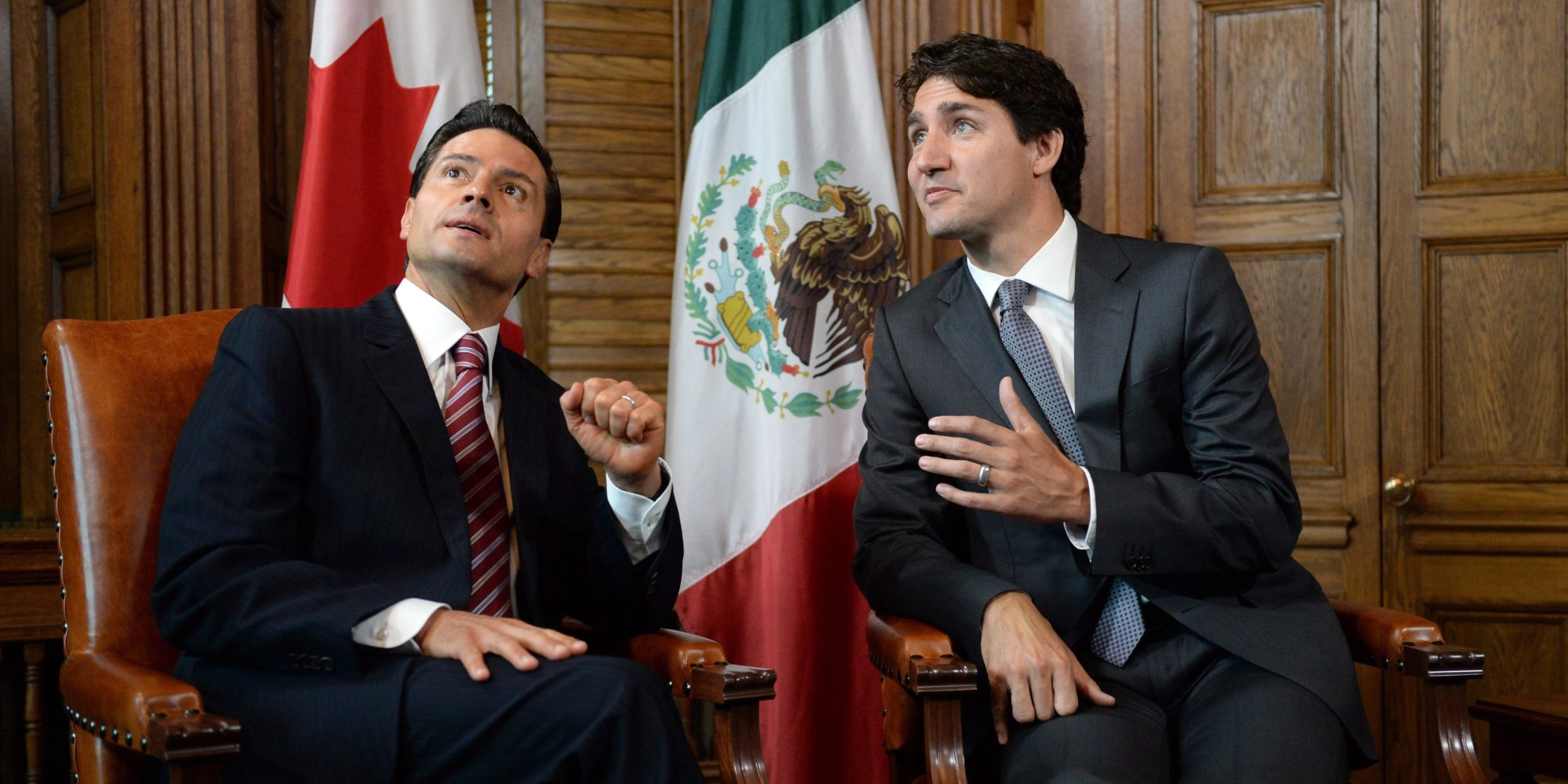 Mexico and Canada