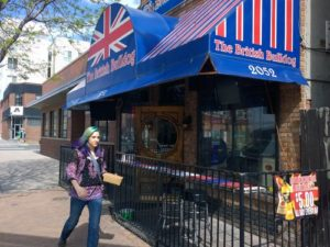 British in Denver