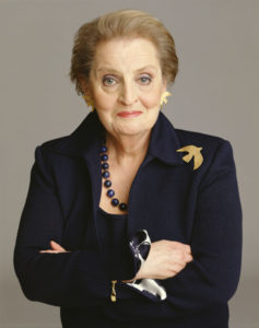 Madeleine Albright Immigrant