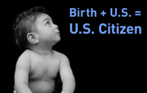 US Birthright Citizenship