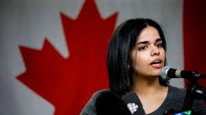 Saudi teen Canada