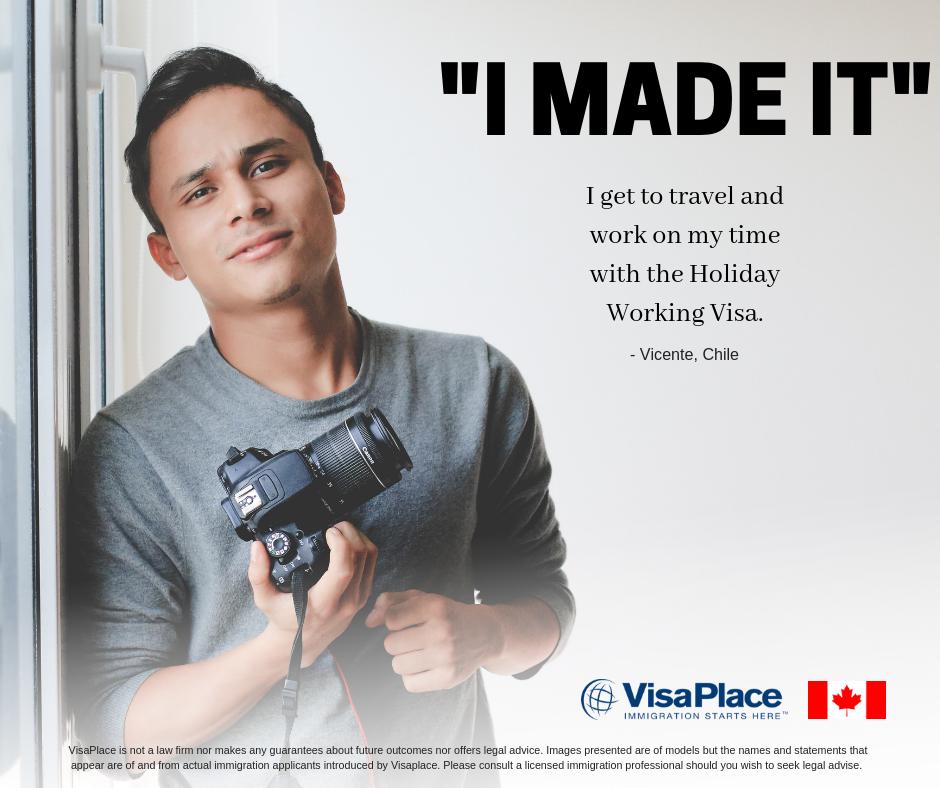 Working Holiday Visa Success Story
