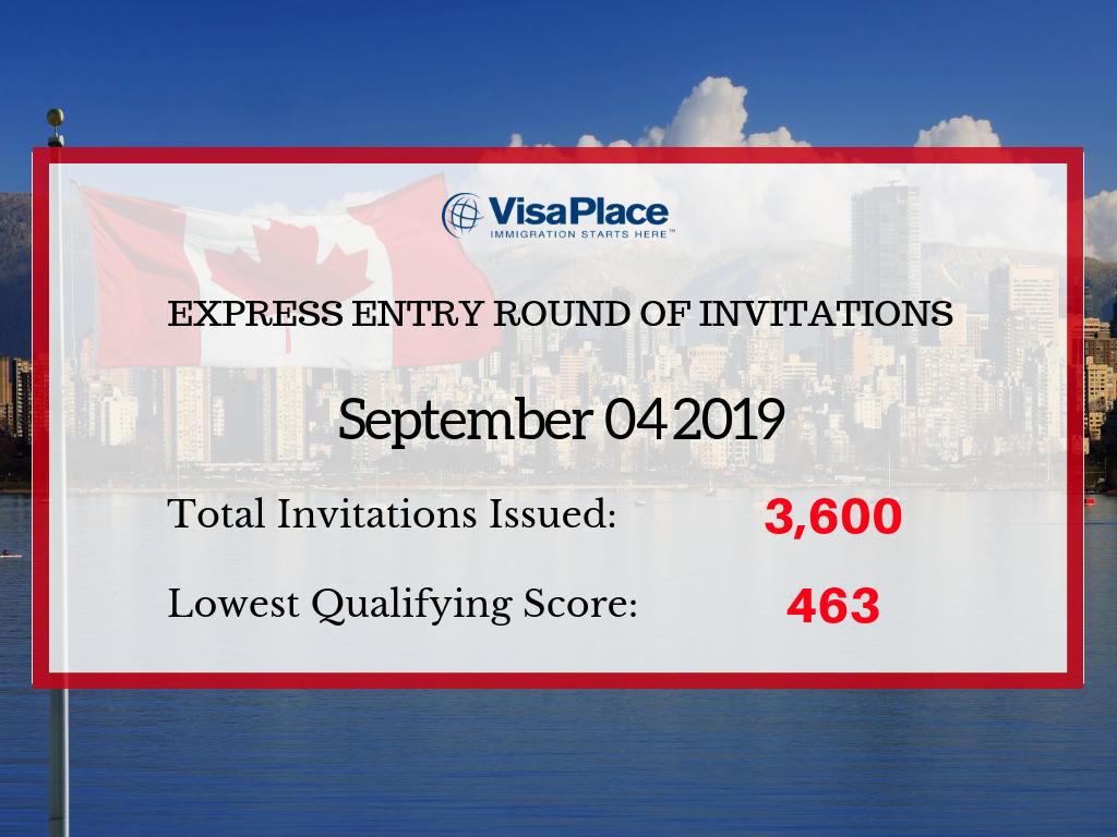 Express Entry #125 September